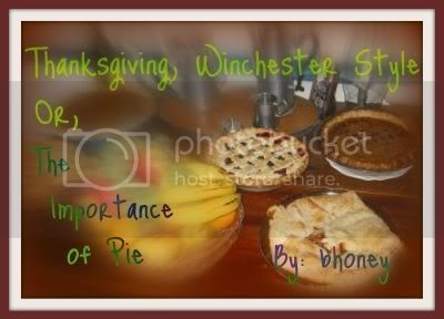 Thanksgiving, Winchester Style banner