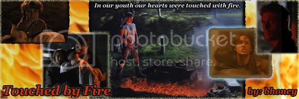 Touched by Fire banner